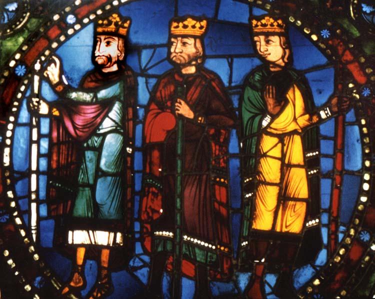 Chartres three kings