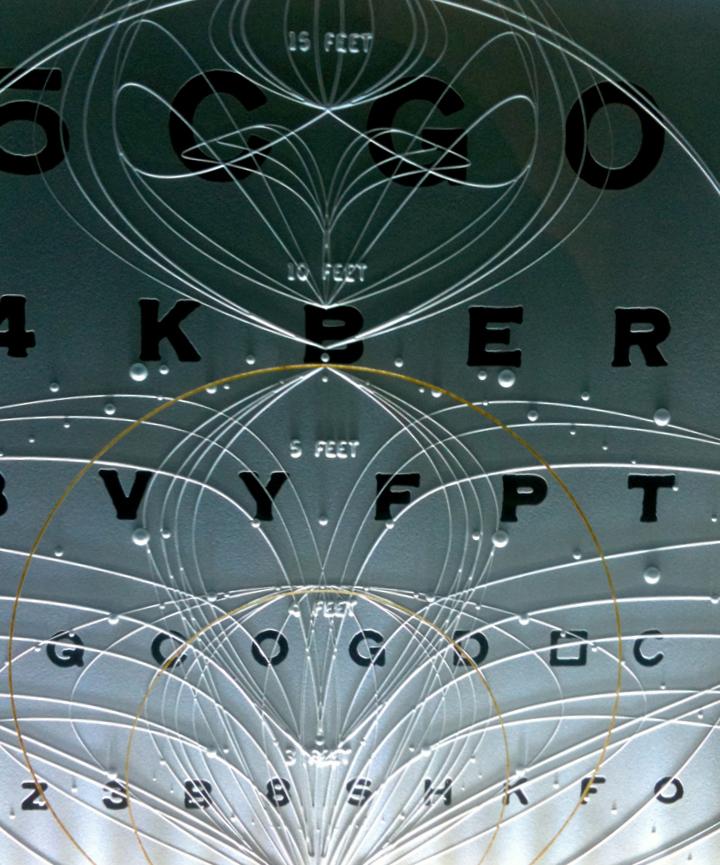 9999 eye chart