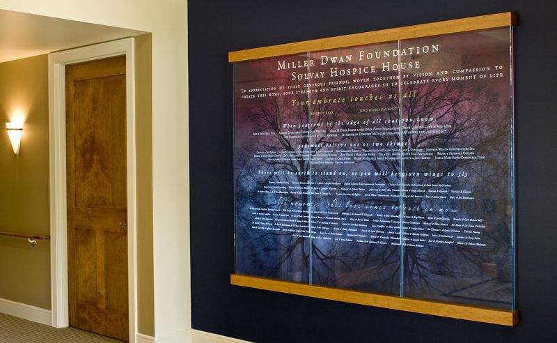 6039 Miller-Dwan Solvey House Donor Wall