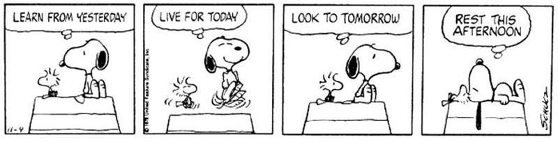 Snoopy cartoon horizontal