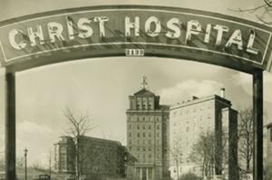 Hospital -  1930s entrance