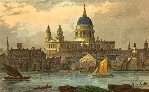 St. Paul's painting